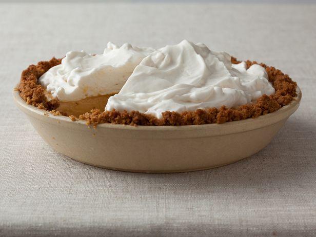 Frozen Pumpkin Mousse Pie Recipe : Food Network Kitchen use Gluten ...