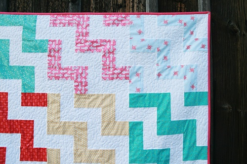 Up a Notch Quilt and Pattern by Fresh Lemons : Faith, via Flickr