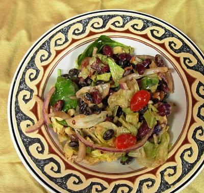 Chipotle Black and Kidney Bean Salad Adapted from Black Girls Guide to ...