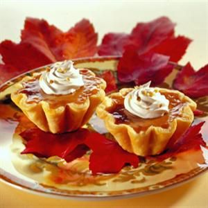 Harvest Pumpkin Tarts | Baking | Pinterest