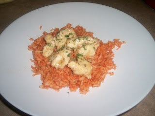 Chicken With Tomato Rice Pilaf - Chef Michele's Adventures - Grocery ...