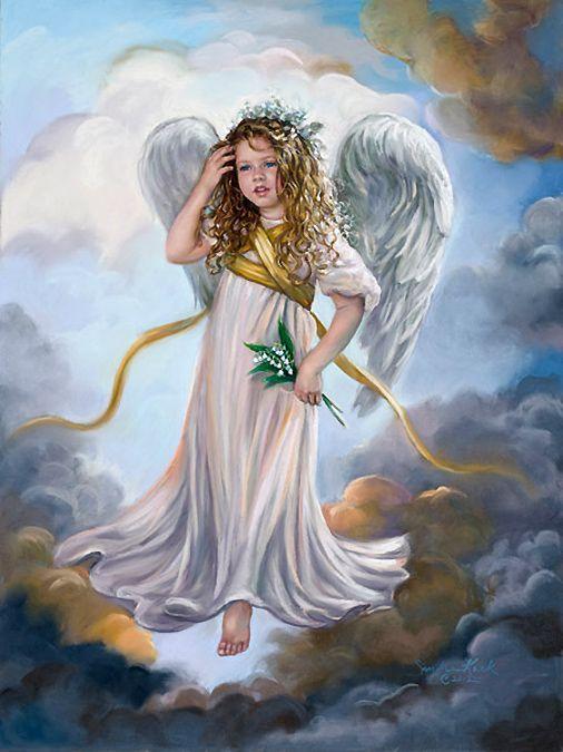 Little angel | Littlest Angels | Pinterest