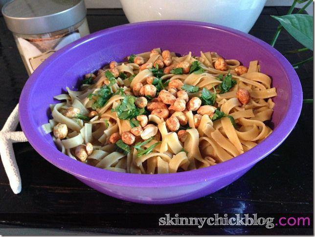 Cold Peanut Sesame Noodle Salad   Favorite Recipes   Pinterest