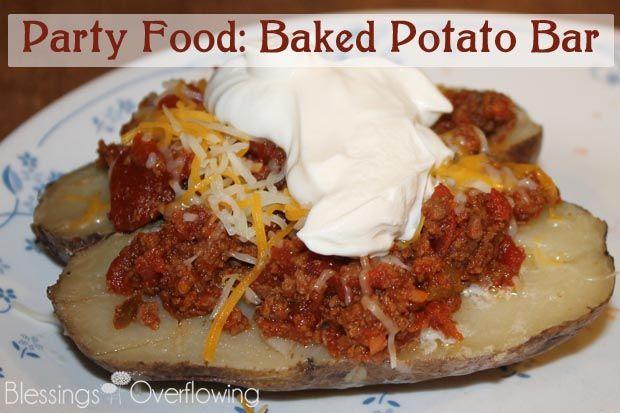 Baked Potato Bar Recipe — Dishmaps