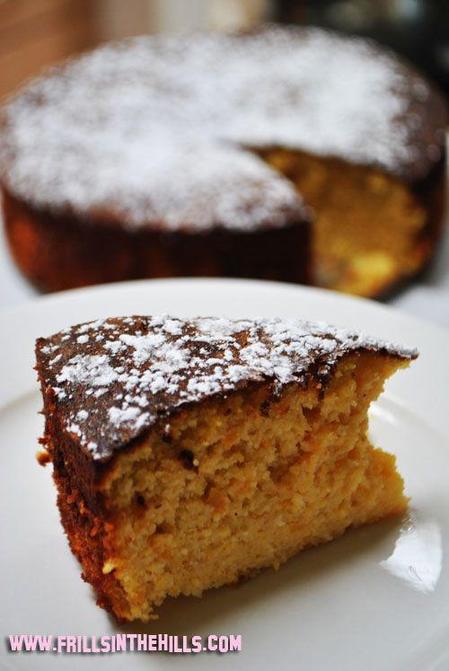 Gluten free, Dairy free - Orange and almond cake. One of my favourite ...