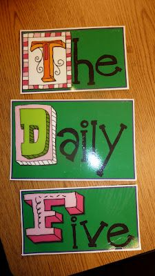 Great Daily 5 stuff. Love the Smart Board items on this blog!
