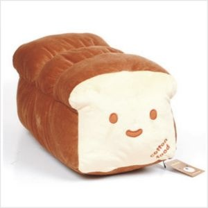 bread pillow bed cushion by Hellowplush