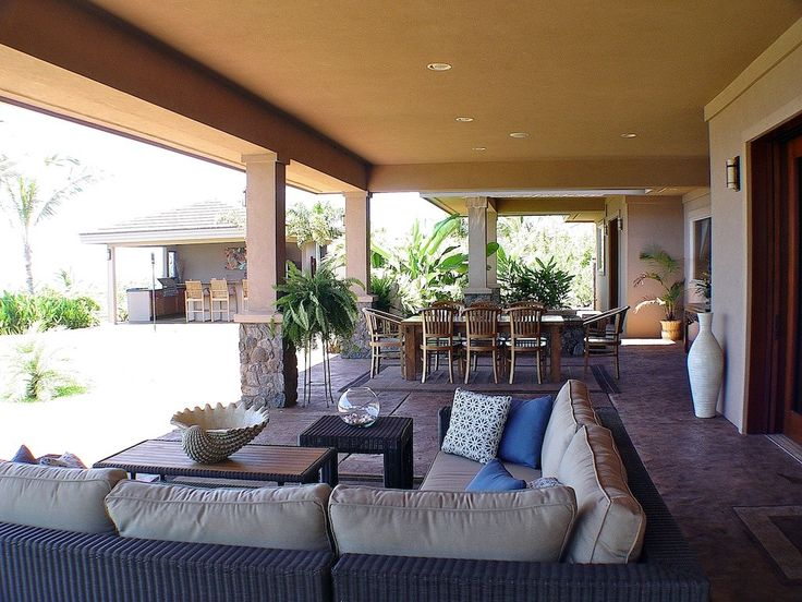 our covered lanai my maui beach home pinterest
