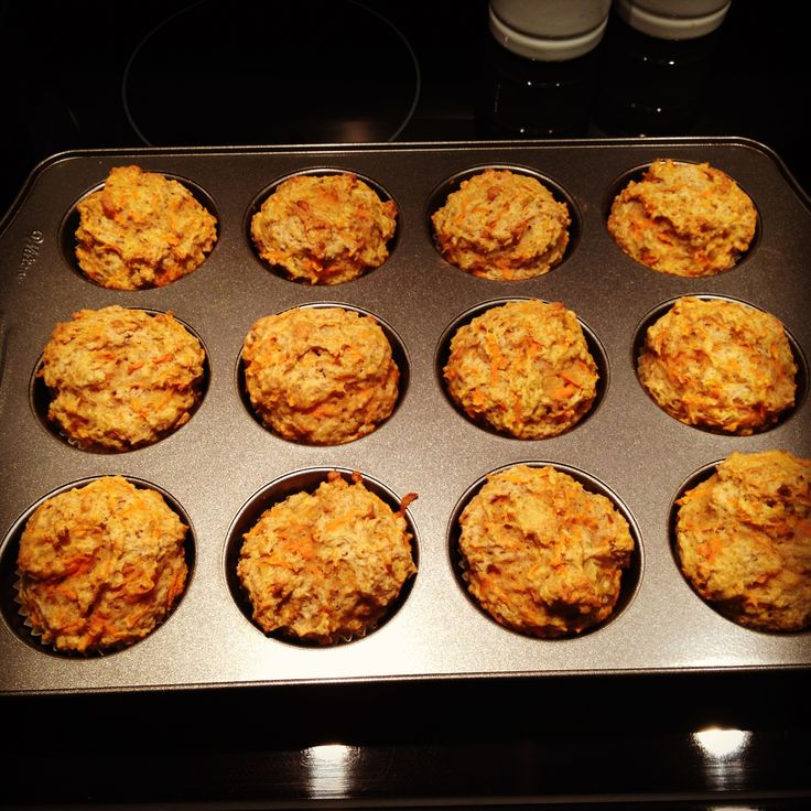 Spiced Carrot Millet Muffins Recipe — Dishmaps