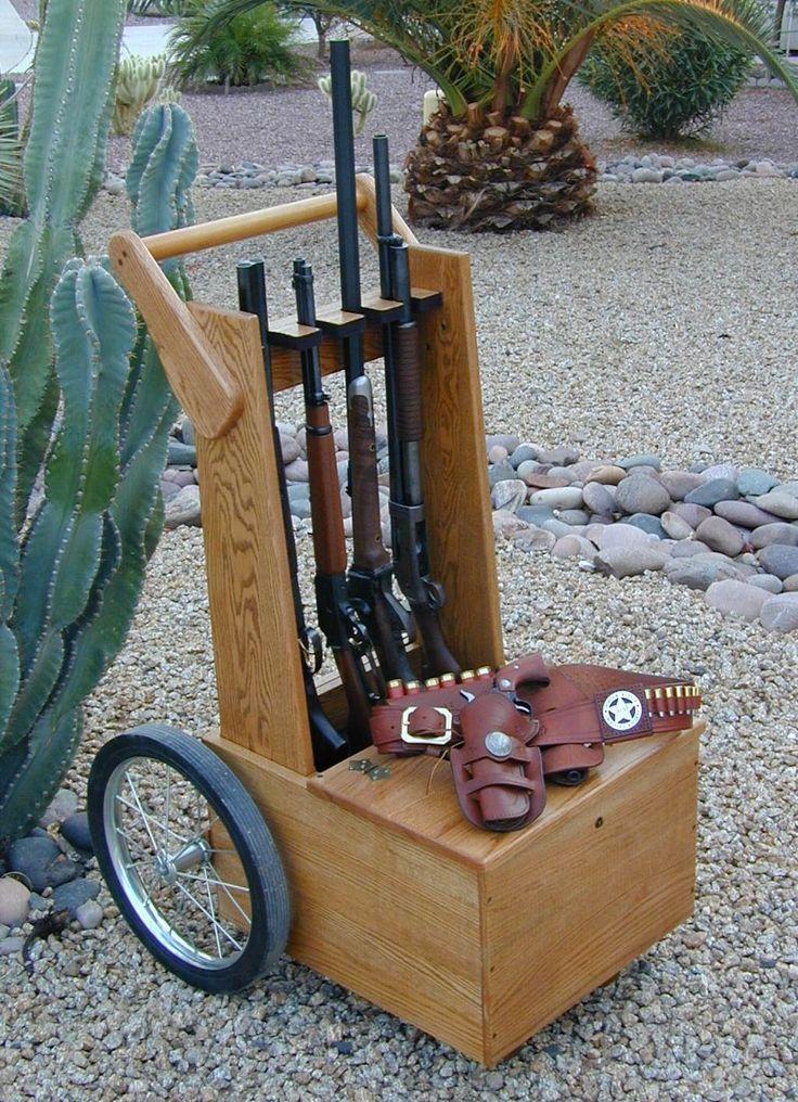 Gun Cart Plans Cowboy Shooting Pinterest