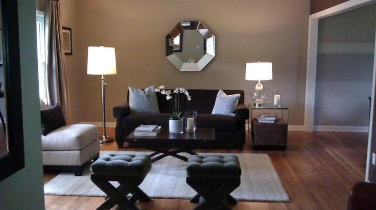 Sherwin williams balanced beige paint colors pinterest for Beige wall living room ideas