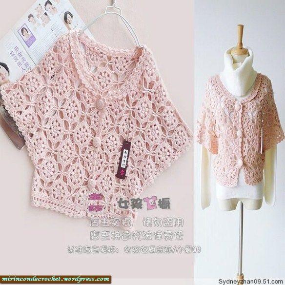 Crochet Baby Sweater Diagram : Diagram Crochet - cardigans, sweaters Pinterest
