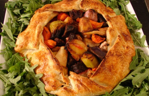Roasted Vegetable Tart | Recipes | Pinterest
