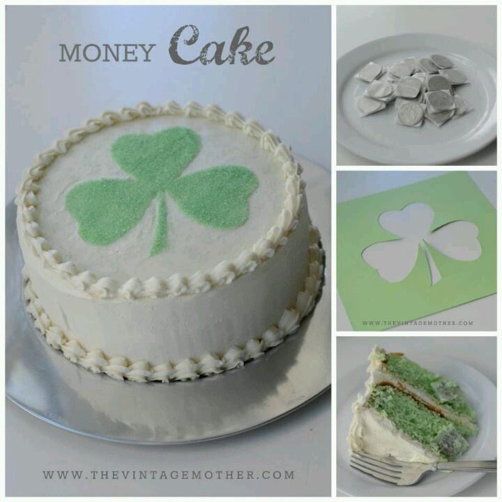 Pin money cake ideas 66768 money cake - Money cake decorations ...