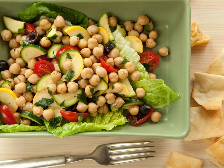 Mediterranean Garbanzo Salad | Recipe