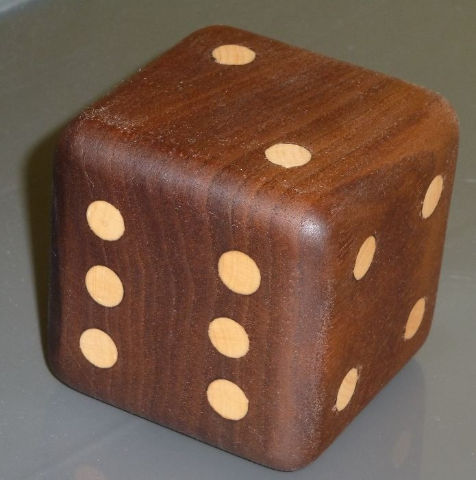 Large Wooden Dice | Wood Pallet Ideas | Pinterest