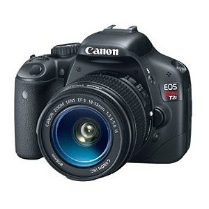 Canon EOS Rebel T2i 18 MP CMOS APS-C Sensor DIGIC 4 Image Processor Full-HD Movie Mode Digital SLR Camera with 3.0-inch LCD and and EF-S 18-55mm f/3.5-5.6 IS Lens --- http://bizz.mx/m0