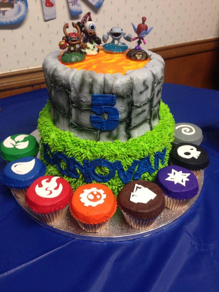 Skylander Cake Cakes Pinterest