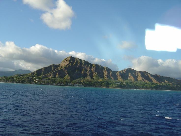 Diamond Head in Hawaii