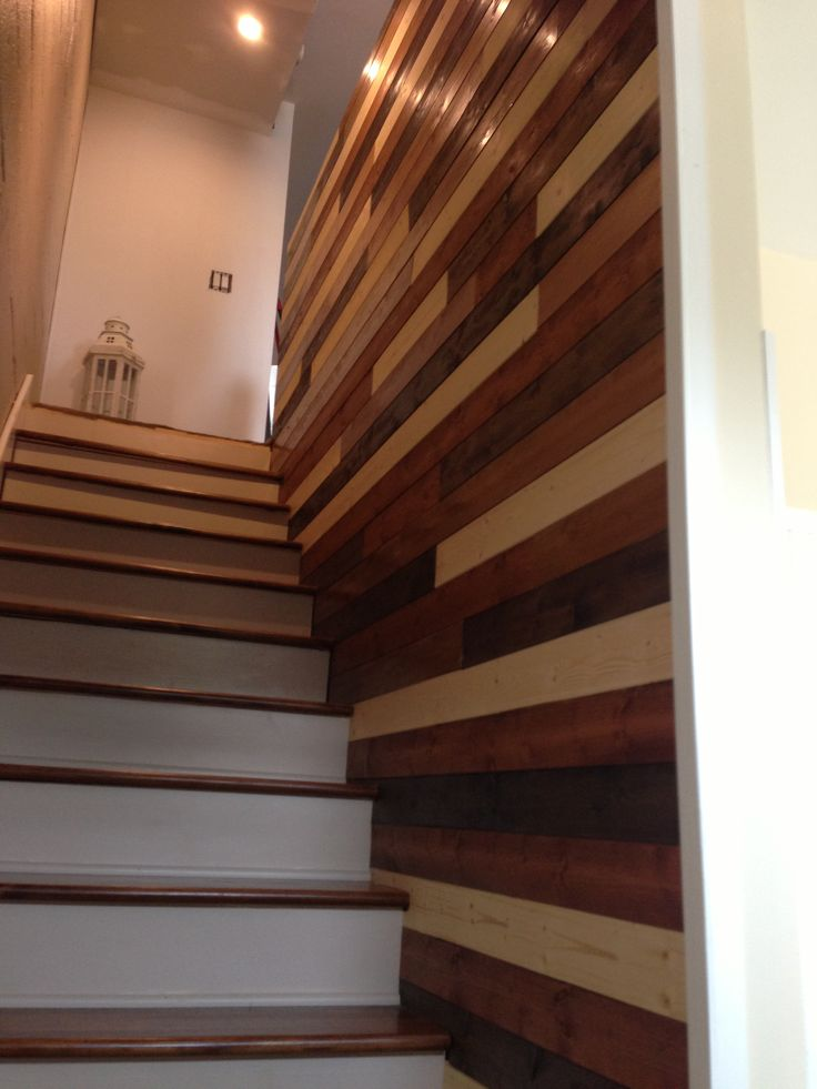 Stained Tongue Groove Wall For The Home Pinterest