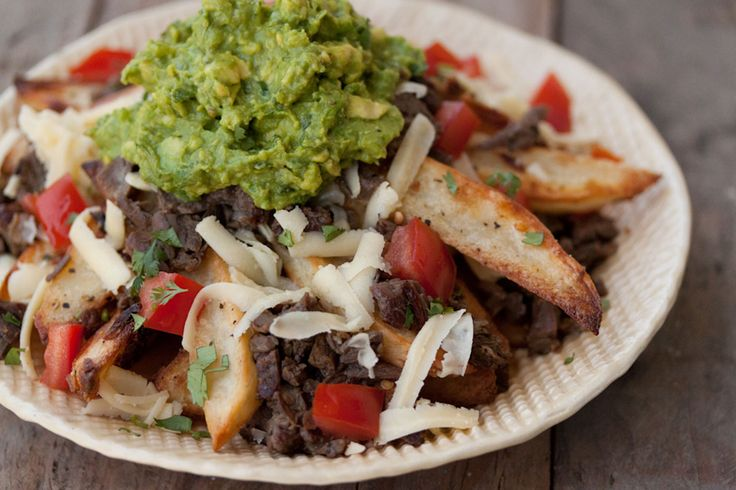 Carne Asada Fries - just a thought, Costco has refrigerated carne ...