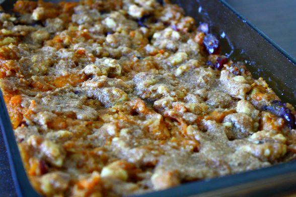 Sweet potato oatmeal bake! mmmm! fall breakfasts just got yummier!