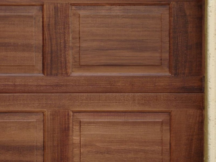 Garage doors paint finishes pinterest for Garage door finishes