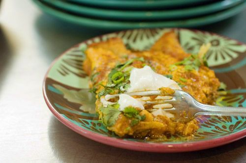 Simple, Perfect Enchiladas Recipe — Dishmaps