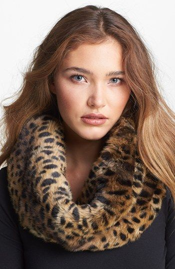 Parkhurst Faux Fur Twisty Scarf - MEow!