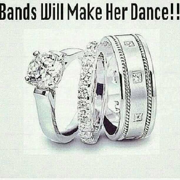 Bands will make her dance ...