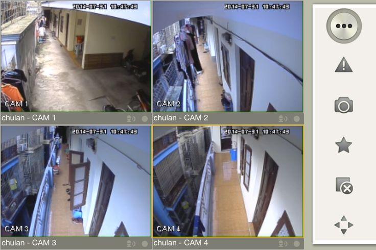 Lắp đặt camera quan sát gia đình bằng model VT3113H-Vantech thì ảnh cho lên như thế nào