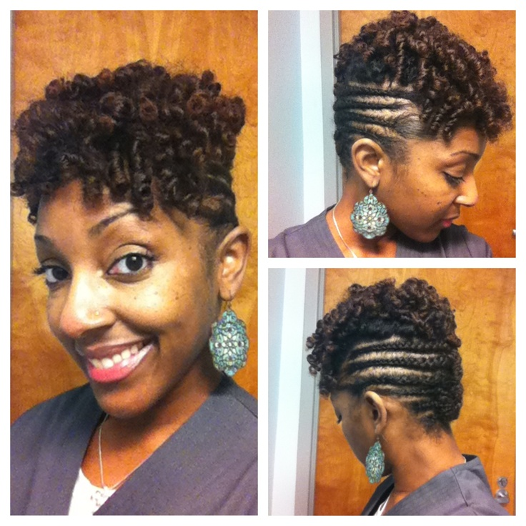 Crochet Hair Knots : Crochet Braids With Marley Hair Bantu Knot Out ...