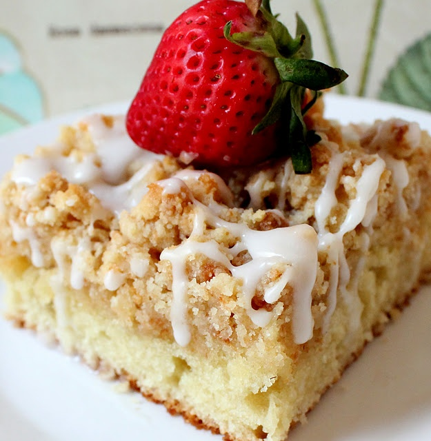 Classic Crumb Cake | Yummy for the tummy | Pinterest