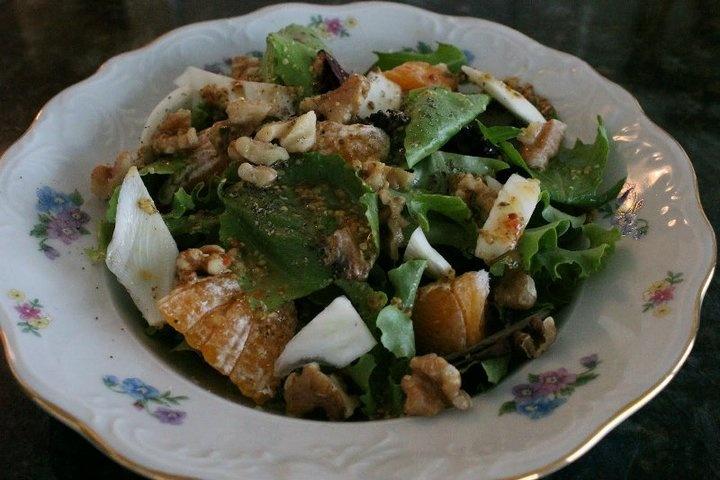 Tangelo Oil-Free Vinaigrette Salad | Recipe Photos | Pinterest