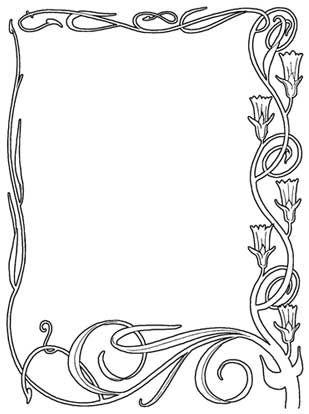 Border Design For A4 Paper | Joy Studio Design Gallery - Best Design