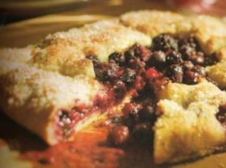 Mixed Berry Galette | Fruit Recipes | Pinterest