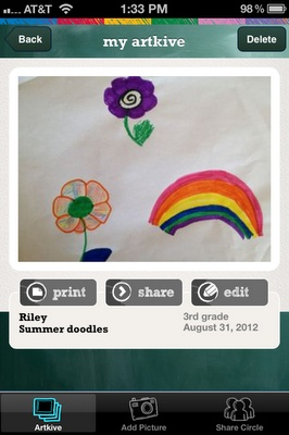 Turn your child's artwork into a beautiful coffee-table memory book!