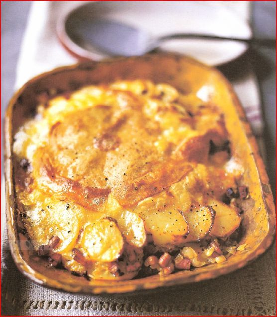 Tartiflette Inspired New Potatoes, Spinach And Boursin Recipes ...