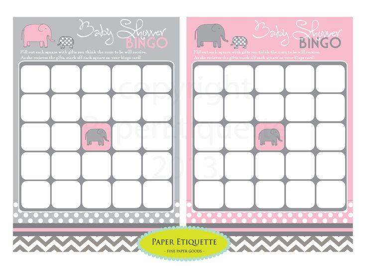 instant upload 4 baby shower bingo and word search game cards che