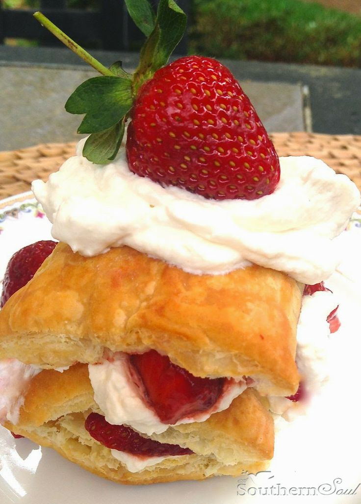 Strawberry Napoleons (1) From: A Southern Soul, please visit