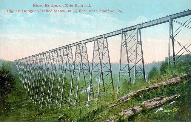 Kinzua Bridge before