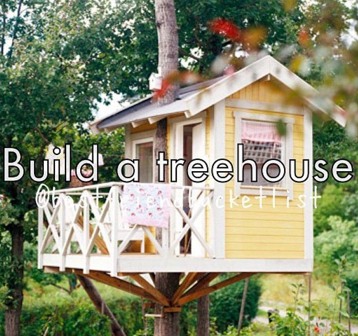 build a tree house