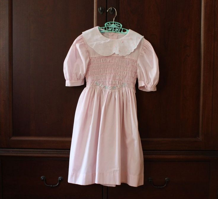 Vintage pink polly flinders easter dress polly flinders pinterest