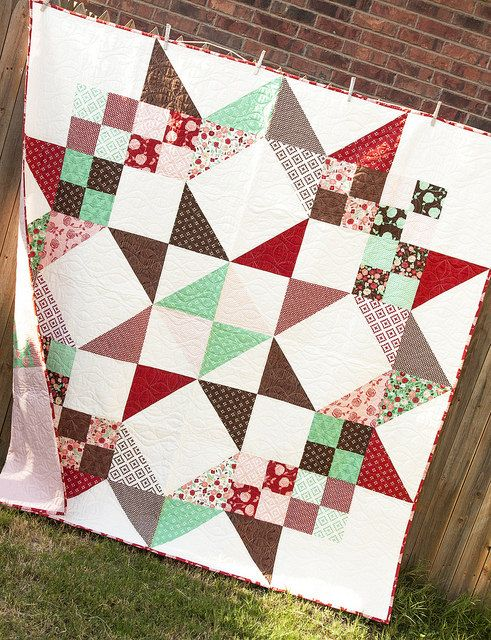 Moda Love layer cake quilt Quilts Pinterest