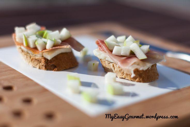 prosciutto crostini recipes dishmaps avocado prosciutto crostini ...