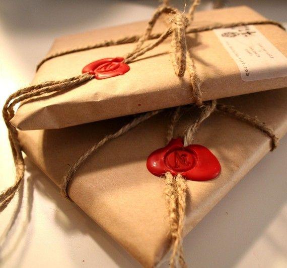 Сургуч упаковка подарков 7