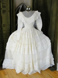 19th century wedding dress 39 800 39 900 fashion pinterest for 19th century wedding dresses