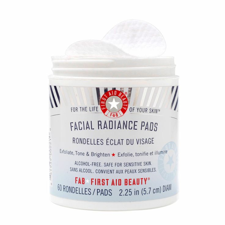 First aid beauty facial radiance pads feel unique
