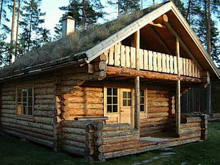 Old Style Log Cabin My Home Decorating Ideas Pinterest