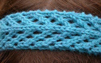 Free Knitting Patterns For Lace Headbands : Knit Headband Criatividade Pinterest